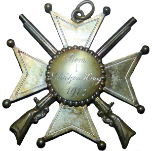 Erster Königsorden aus 1913