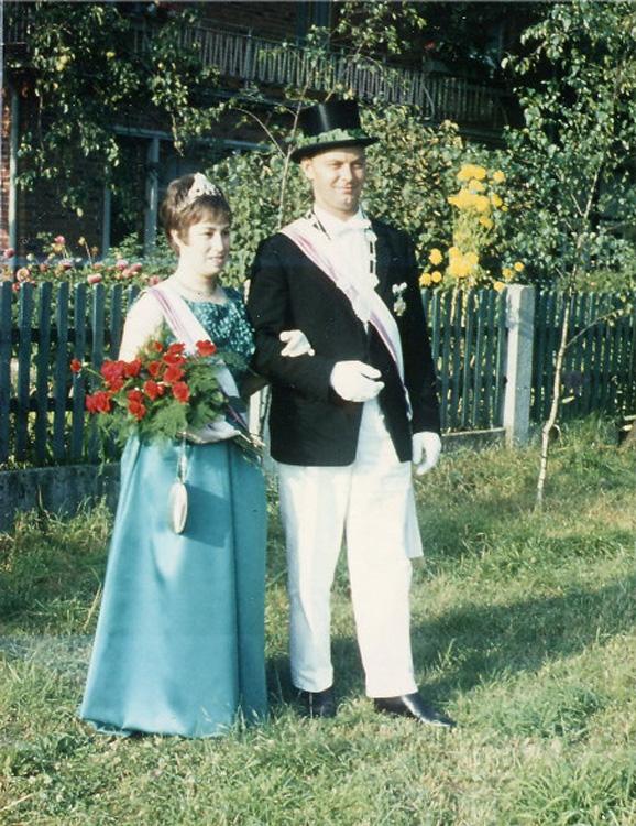 1966 Manfred Albrecht - Ehefrau Marianne